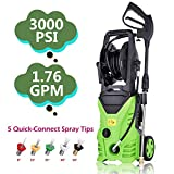 ncient NIS4600 High Pressure Power Washer 3000 PSI Electric...