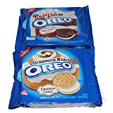 Bundle 2 items:1 Red Velvet and 1 Cinnamon Bun Oreo Cookies by Oreo