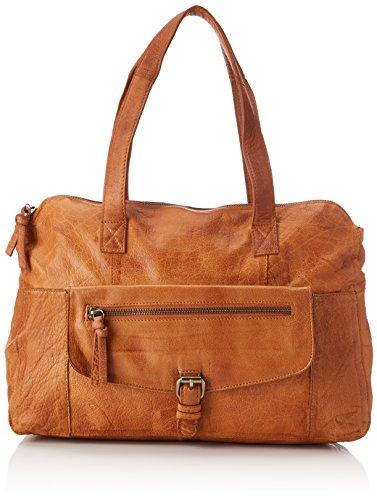 Leather Borsette Noos Bag polso da Pcabby Donna Marrone Cognac PIECES 5w1aIqnAxn