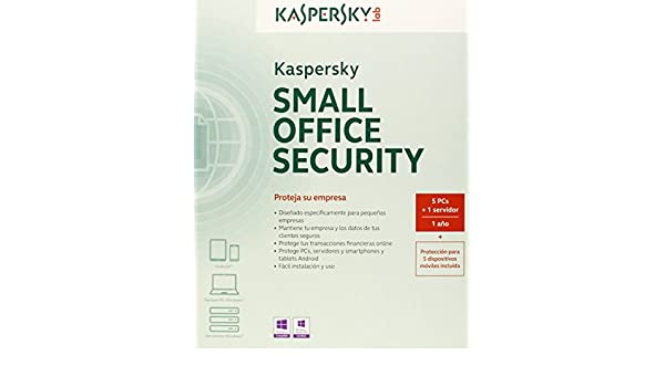 Kaspersky Small Office Security 3.0 - Antivirus, 1 Servidor + 5 Puestos: Amazon.es: Software