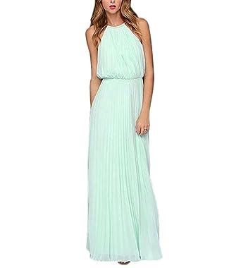 Abendkleider Damen Lang IHRKleid® Festkleider Sommer Chiffon ...