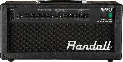 50w Tube Guitar Head (Randall RH50T Tube Series 50-Watt Guitar Amp Head)