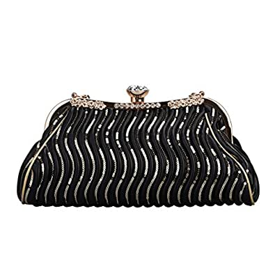 Bonjanvye Big Crystal Small Handbags for Womens Bags and ...