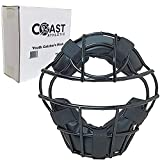 Coast Athletic Youth Catcher's Mask | Baseball/Softball Face Guard