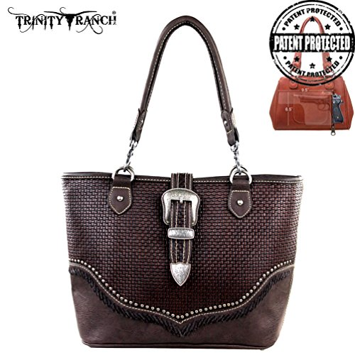 Concealed Handbag Ranch TR31G Trinity Handgun 8014 Design Coffee Buckle Collection g8xwqXEq