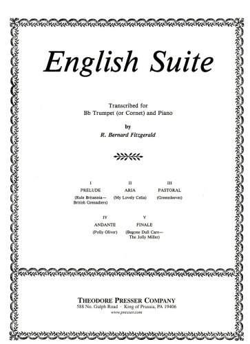 Download English Suite for Trumpet and Piano pdf