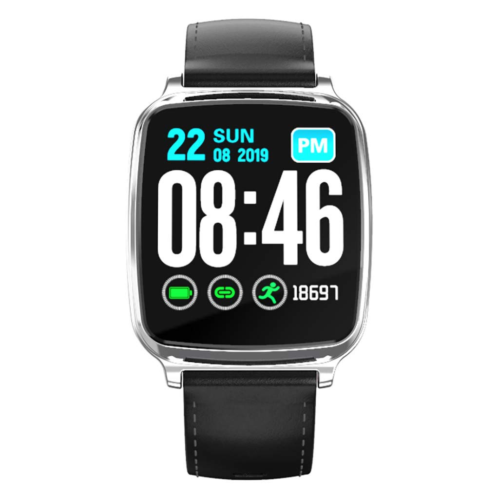 Smart Watches for Men Android, YEZIJIN M8 Heart Rate Blood Pressure Sleep Monitoring SmartWatch Pedometer Tracker for Father Men Student Youth Teens Boyfriend Lover's Birthday