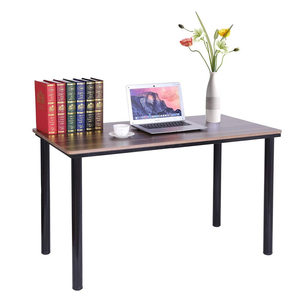 Chenway Home Desktop Computer Desk, Simple Writing Desk, Economical Desk, Desk, Small Space Dining Table, 47.2 X 23.6 X 28.3 Inches [Ship from USA Directly]