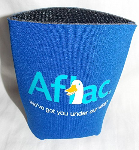 aflac-duck-blue-koozie-can-holder