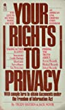 Your Rights to Privacy, Jack D. Novik, 0380758954