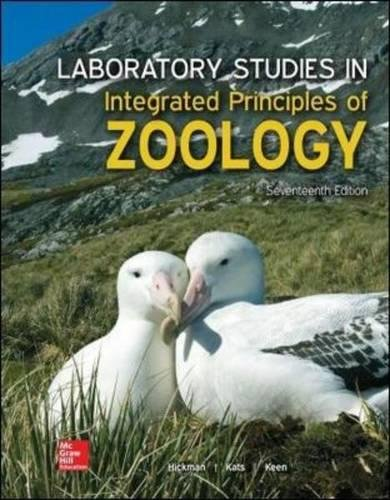 Integ.Prin.Of Zoology Lab.Studies