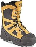 Thorogood 861-4071 Men's Endeavor Extreme 12'' Waterproof Snow Boot, Black & Tan - 10 W US