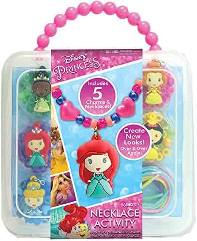 Disney Princess Necklace Activity Set Necklace Set