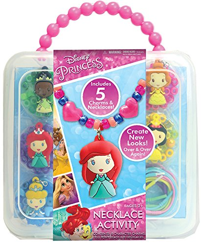 Disney Princess Necklace Activity (Disney Charm Necklaces)