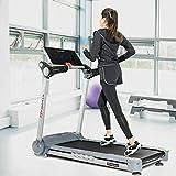 2.05HP Portable Folding Electric Treadmill Run Fitness Machine Home Gym