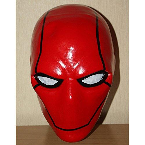 1:1 Custom Halloween Costume Cosplay Latex Batman The Red Hood Mask LA15