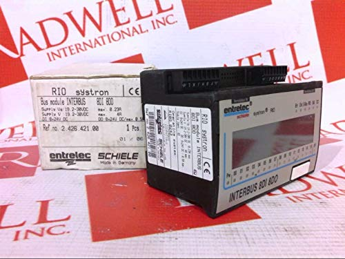 (ENTRELEC 2.426.421.00 Rio INTERBUS Module 8 I/O 2-30VDC)