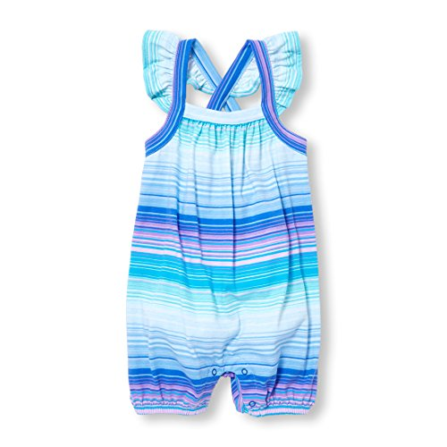 The Children's Place Baby Girls Coveralls, Clipper Ship Blue 10335 6-9MONTHS