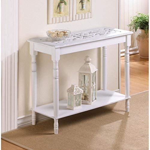VERDUGO GIFT Carved-top Table, Multicolor