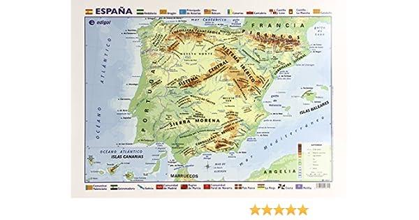 Mapa Escritorio España Físico-Político: Amazon.es: Vv.Aa.: Libros