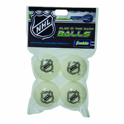 Franklin Sports Hockey Balls – Glow In The Dark – NHL – DiZiSports Store