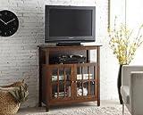 42 Inch Square Ottoman Convenience Concepts Contemporary Big Sur Highboy TV Stand, Espresso