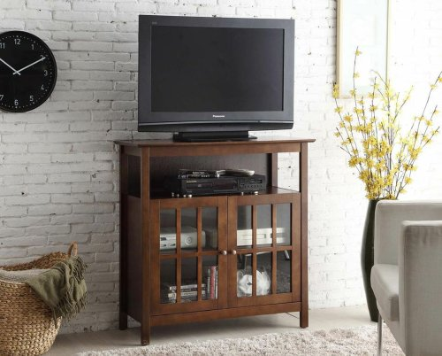 Convenience Concepts Contemporary Big Sur Highboy TV Stand, (Highboy Chest)