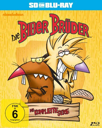 The Angry Beavers - Complete Series [ NON-USA FORMAT, Blu-Ray, Reg.B Import - Germany ]