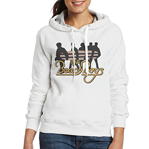 Female Elvis Presley Costumes (UFBDJF20 The Beach Boys Hoodied For Women M White)