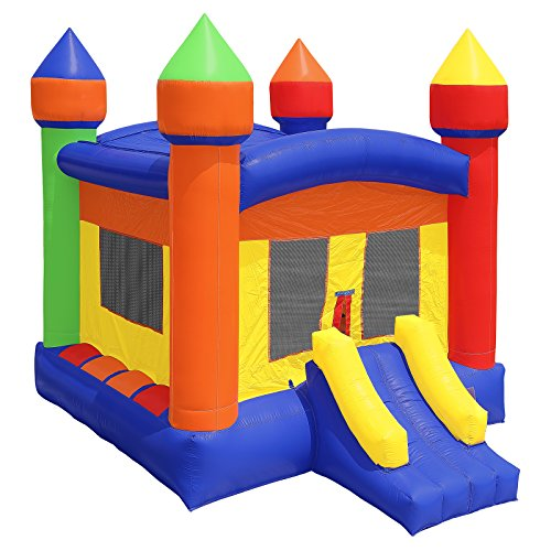- Inflatable HQ Commercial Grade Castle Bounce House 100% PVC with Blower