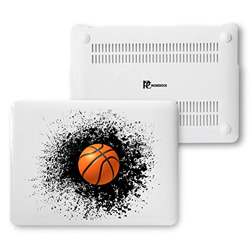 Hard Basketball - MacBook Air 13 Case, Plastic Hard Shell Snap On Case Cover Compatible for Apple Macbook Air 13 inch (A1466 & A1369) (Splash Basketball)