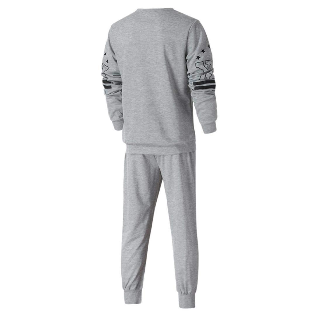 ♚Chándal de los Hombres Otoño,Sudadera con Estampado de Invierno Pantalones Top Sets Sports Suit Absolute: Amazon.es: Ropa y accesorios