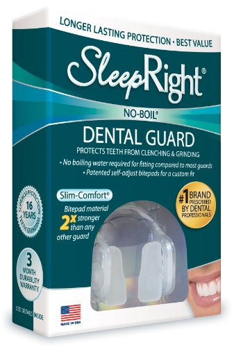 SleepRight SRNGLP Ultra Comfort Dental Guard product image