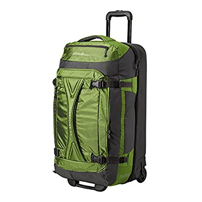 Eddie Bauer Unisex-Adult Expedition Drop-Bottom Rolling Duffel - Large,  Green Re 0f9994091a