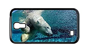 Cool Painting white bear Snap-on Hard Back Case Cover Shell for Samsung GALAXY S4 I9500 I9502 I9508 I959 -274