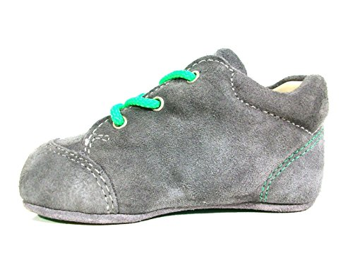 Ricosta Unisex Baby Pini Lauflernschuhe, grau (graphit 451)