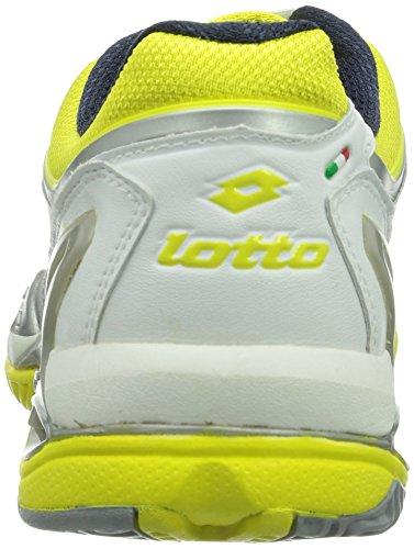 Lotto Sport RAPTOR ULTRA IV CLAY W - Zapatillas De Tenis de goma mujer multicolor - Mehrfarbig (WHITE/CHICK)