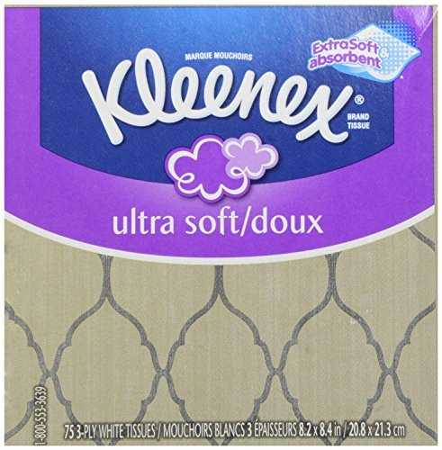 Kleenex-Ultra-Soft-Strong-Facial-Tissues-Low-Count-Cube-75-ct
