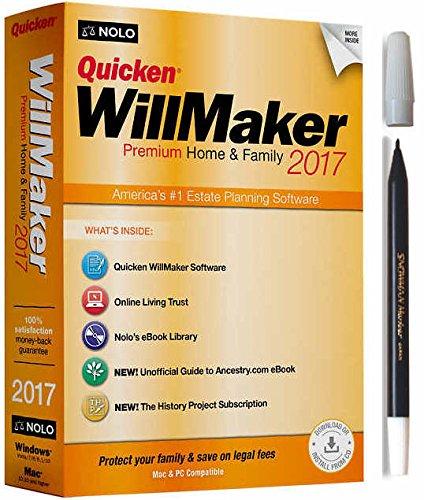 quicken-willmaker-premium-home-family-2017-with-snowman-pencil-marker