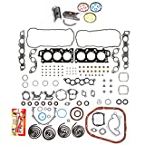 Domestic Gaskets Engine Rering Kit FSBRR2044EVE 99-03 Lexus Toyota 3.0 DOHC 1MZFE Full Gasket Set, Standard Size Main Rod Bearings, Standard Size Piston Rings