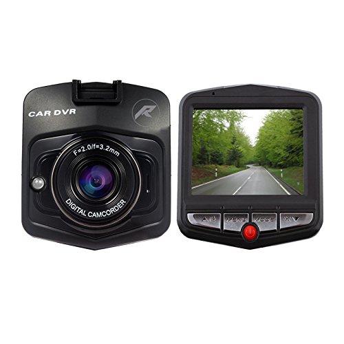 """REDLEMON Dashcam Cámara para Automóvil con Lente 90° para Video y Fotografía, Pantalla LCD 2.3"""", Detector de..."""