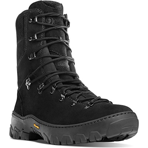 Fire Leather Boot - Danner Men's Wildland Tactical Firefighter 8'' Boots, Black, 7 B