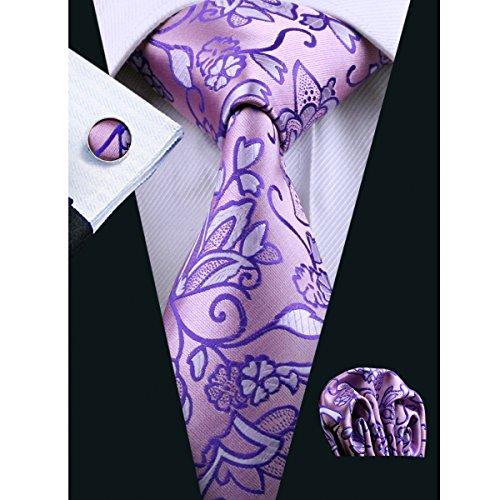 Hi Tie Flower Woven Formal Necktie product image