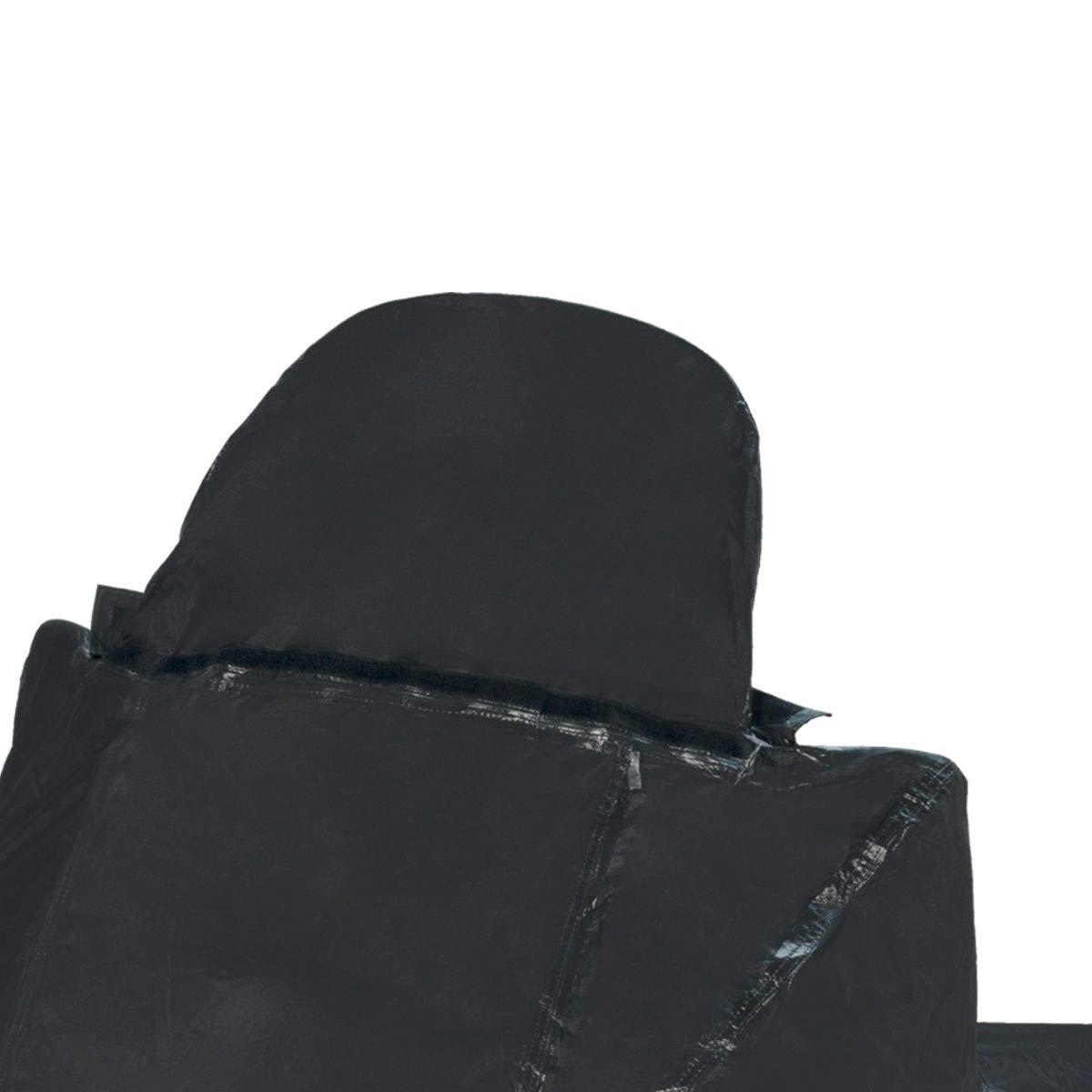 Nero, TJ MARVIN COPRISCOOTER COPRIMOTO telo impermeabile con fodera antigraffio prolunga per parabrezza e predisposizione per bauletto C18 229-89-170 cm