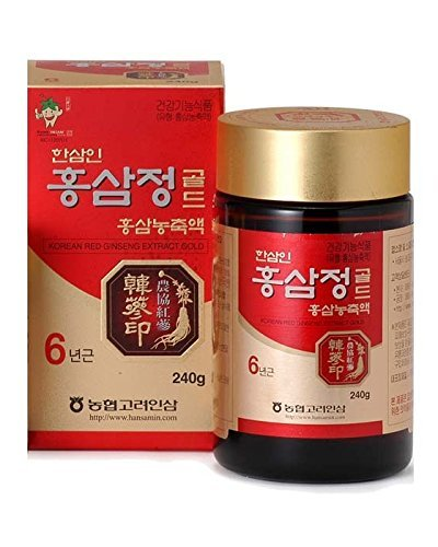 Hansamin Korean Red Ginseng Extract 240g by Hansamin
