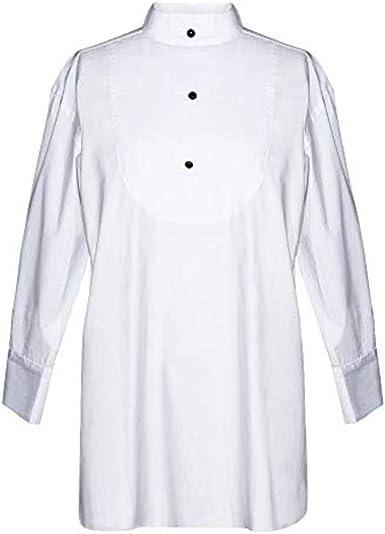 Utopiat camisa de dormir blanca de algodón para mujer inspirada en el estilo audrey hepburn (L, con caja de regalo): Amazon.es: Ropa y accesorios