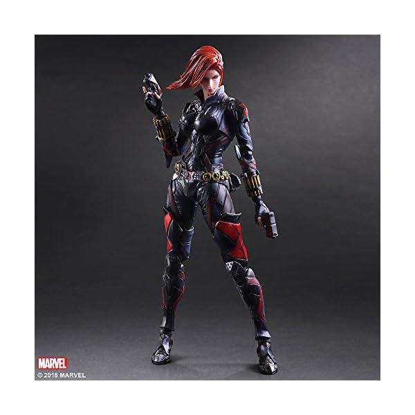 51 19v1wOWL Marvel Comics Variant - Black Widow Play Arts Kai - 26cm