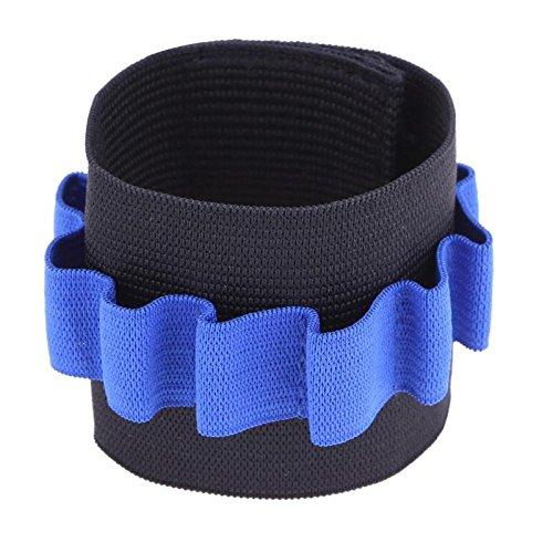 GreenSun TM Soft Bullets Storage Wrist Support Safety Elastic Wrist Band Belt Children Outdoor Toy Fits Accessories Toy Guns Wrist - Elbow Gun