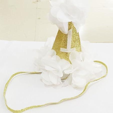 GOTTING Gorro de ducha 1r cumpleaños del sombrero del bebé ...