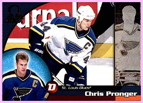 1998-99 Pacific Omega #205 Chris Pronger ST. LOUIS BLUES